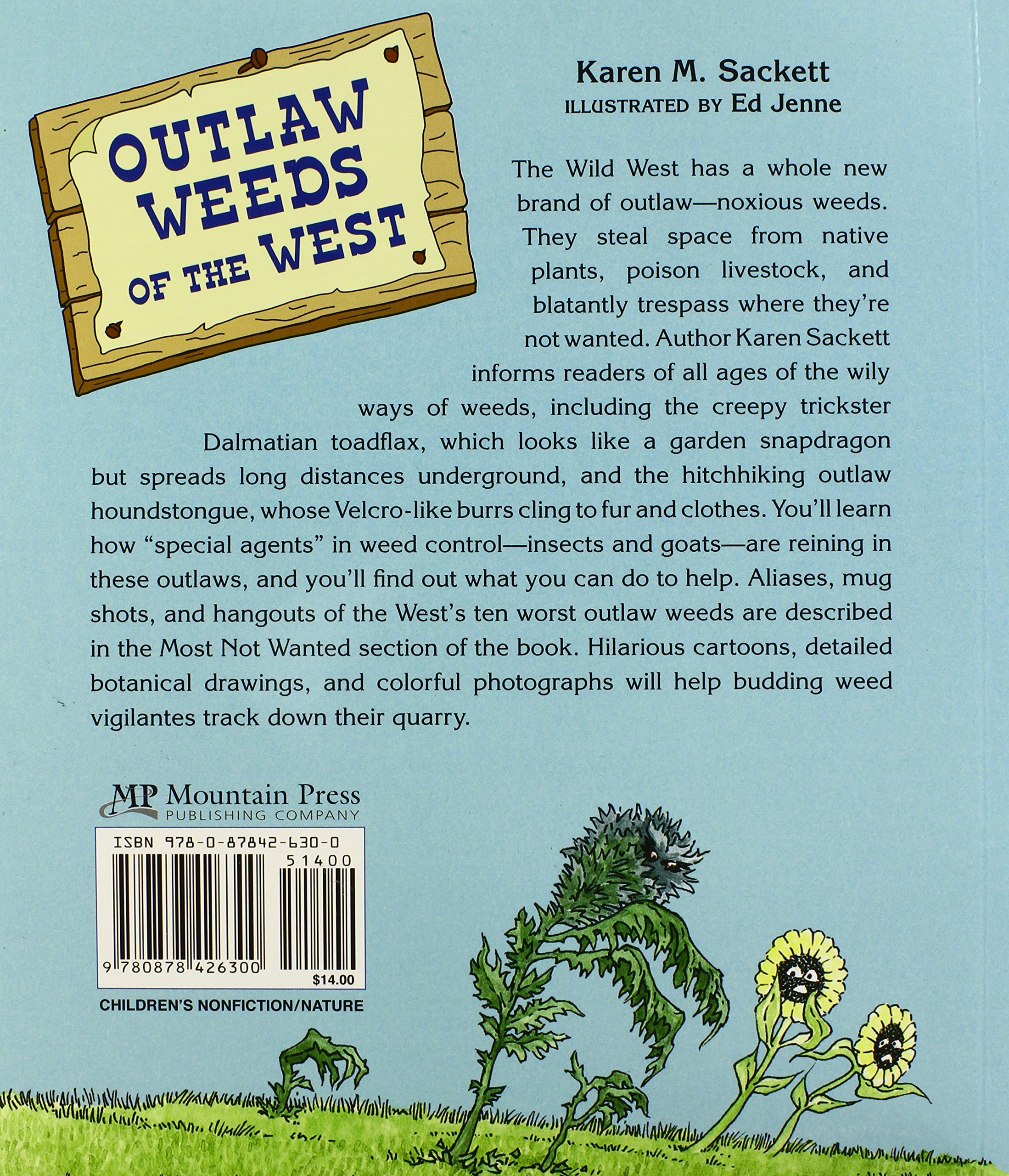 Outlaw Weeds of the West by Mountain Press (Image #2)