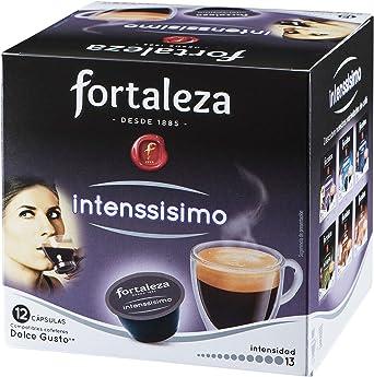 Café FORTALEZA - Cápsulas de Café Intenssísimo Compatibles con ...
