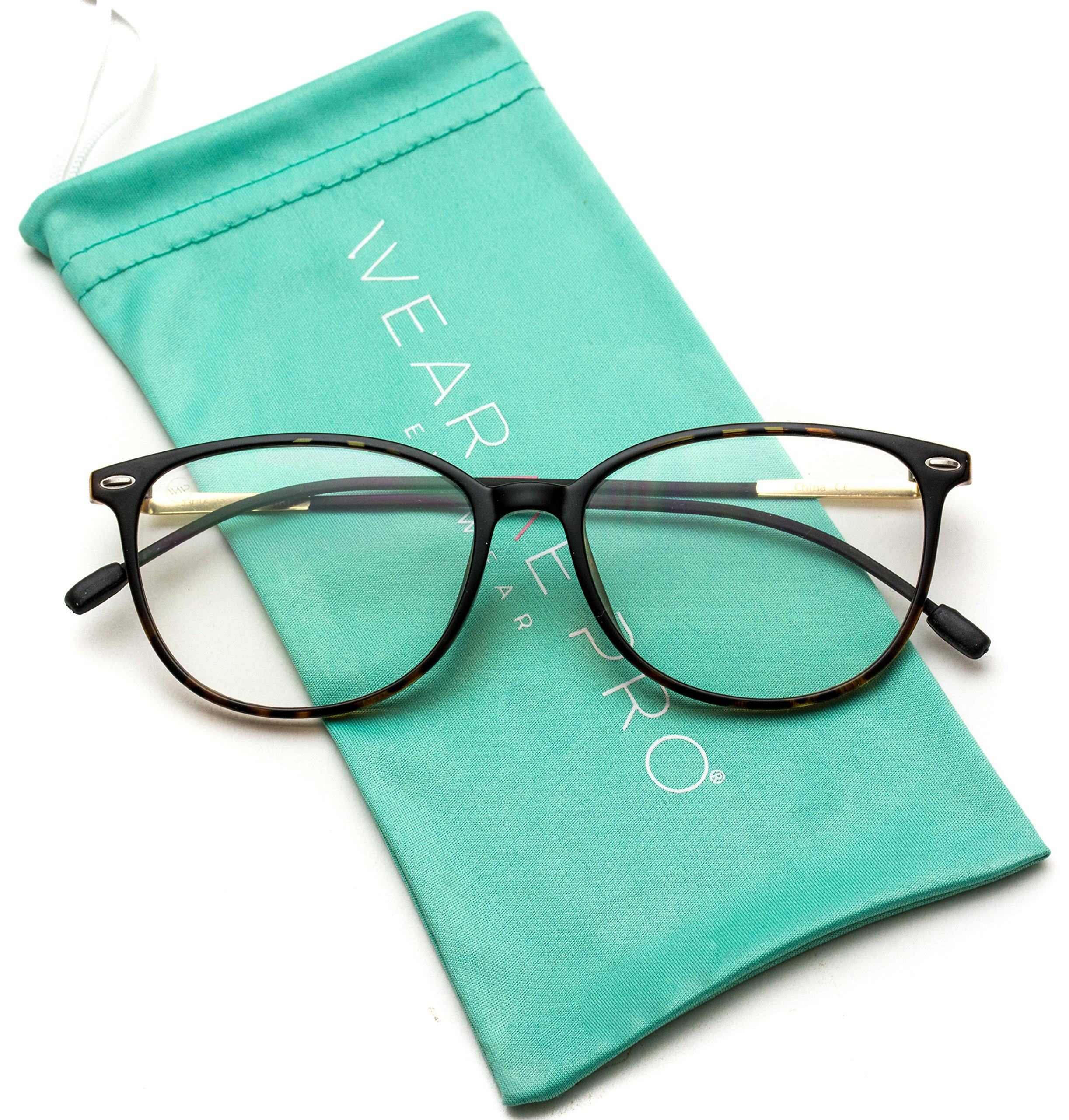 WearMe Pro - Elegant Classic Thin Frame Women Cat Eye Prescription Glasses