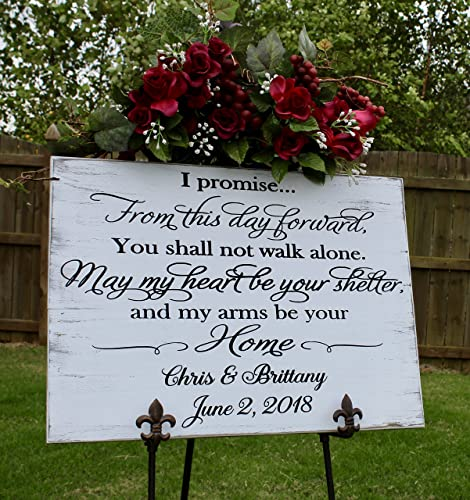 Amazon Com Gift From Groom To Bride On Wedding Day Wedding Vow Art