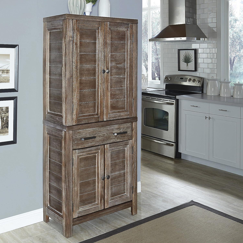 Amazon.com: Home Styles Model 5516 65 Barnside Pantry: Kitchen U0026 Dining
