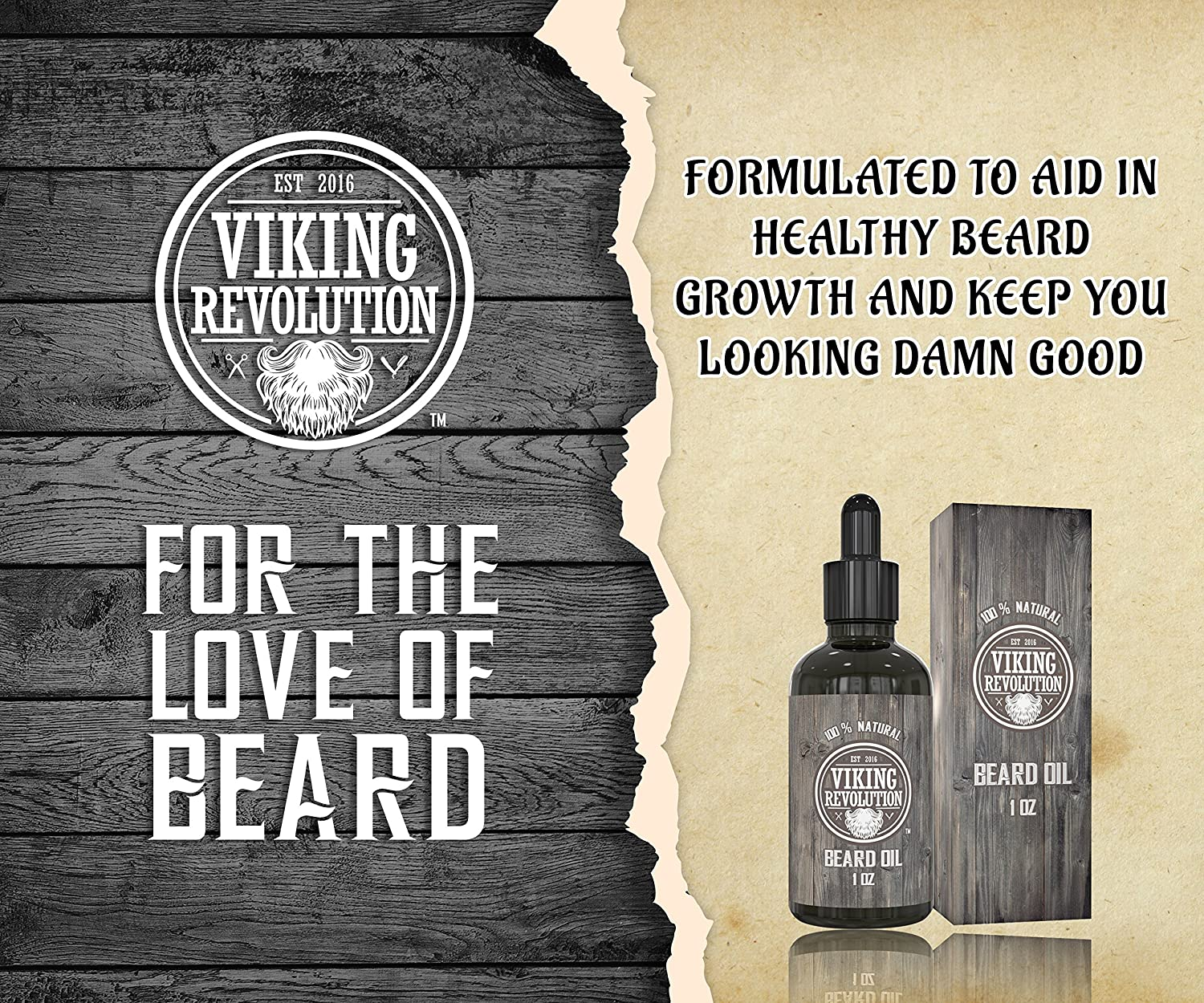 13 Best Beard Growth Oil for fast results viking img