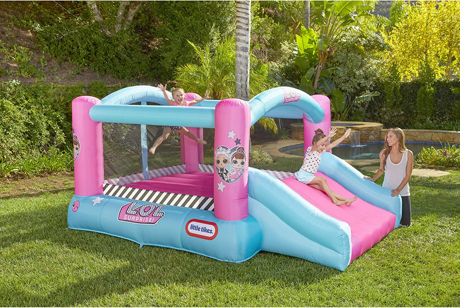 Amazon.com: L.O.L. ¡Sorprenda! Jump n Slide - Bounce ...