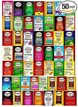 Twinings Variedad bolsas de té Sampler surtido paquete de ...