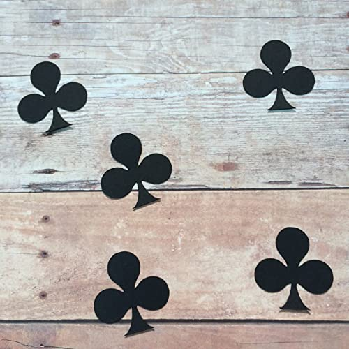 Poker Party Supplies Playing Card Theme Spade Cut Out Spade Confetti Table Scatter Poker Decorations