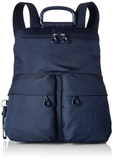 Mandarina Duck Md20 Tracolla, Sacs portés épaule femme, (Dress Blue), 10x34x30 cm (B x H T)