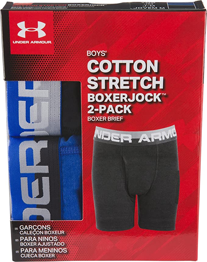 Details about  /Under Armour Boys/' Big Charged Cotton Stretch Boxer Jock