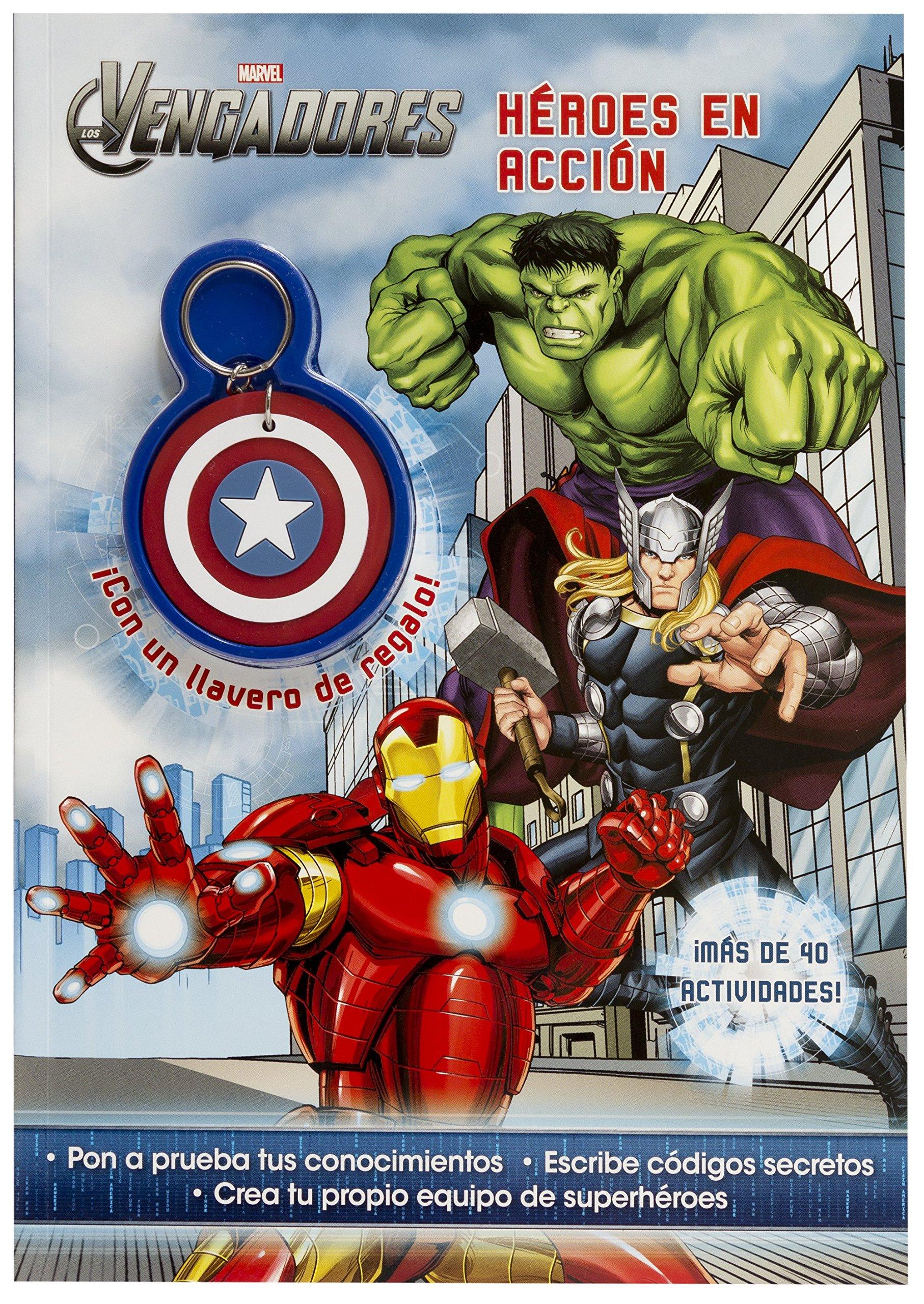 LOS VENGADORES ACTIVS LLAVERO HEROES: Marvel: 9788415343950 ...