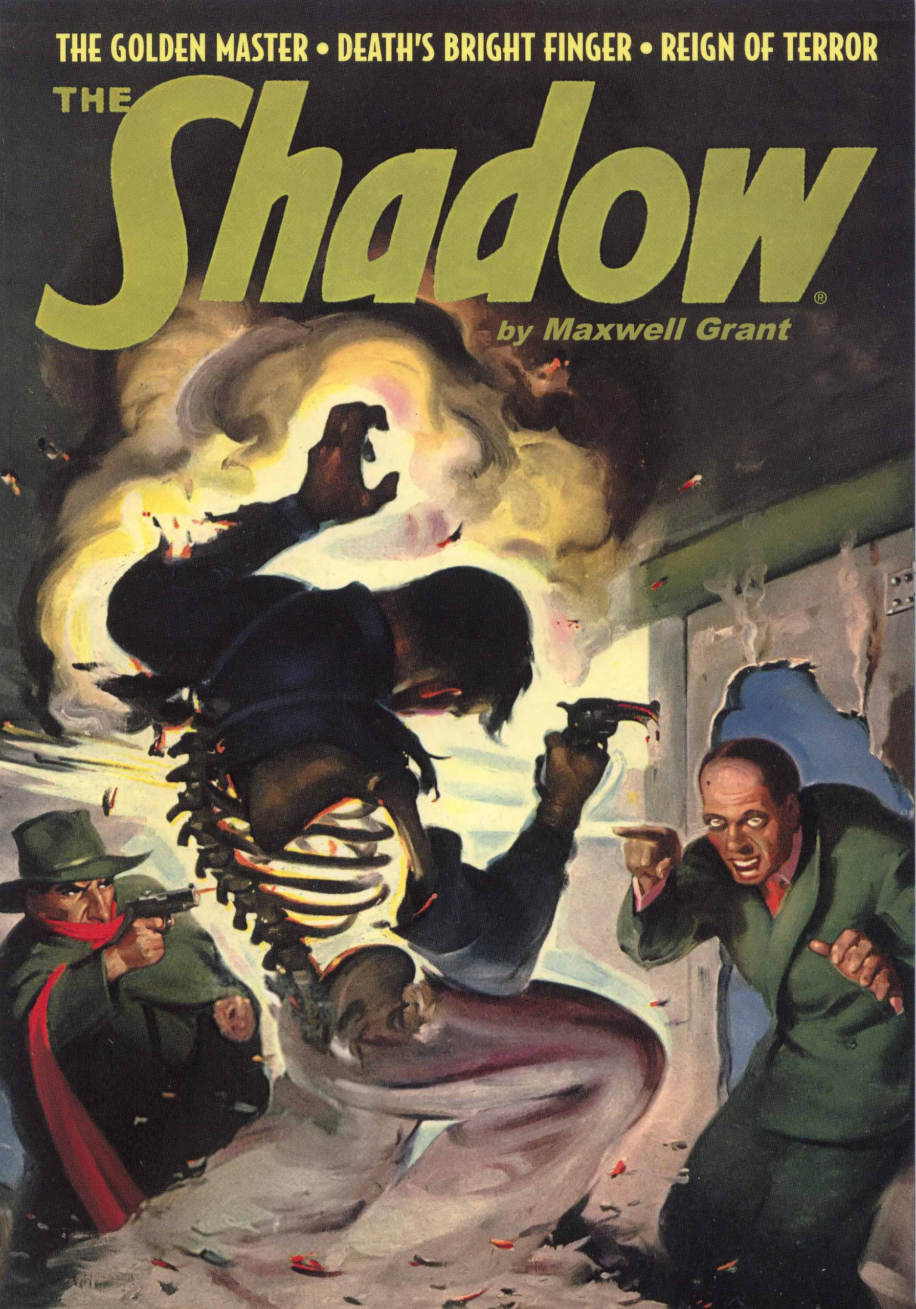 "Download The Shadow #75 : ""The Golden Master,"" ""Death's Bright Finger"" & ""Reign of Terror"" pdf epub"
