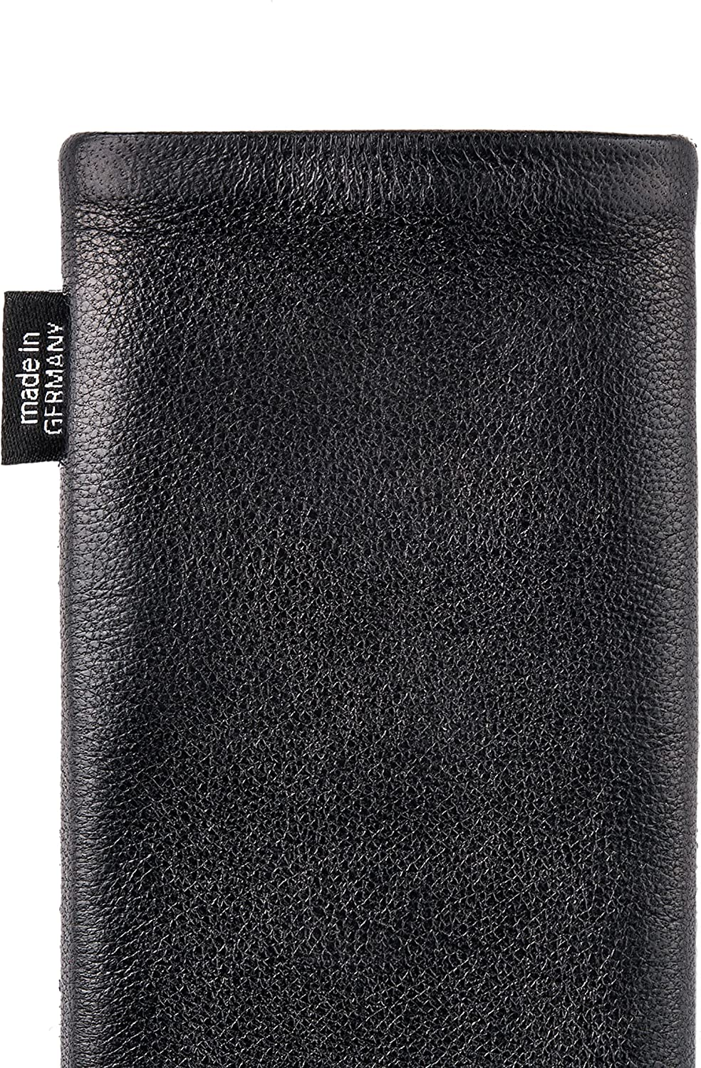 fitBAG Beat Red custom tailored sleeve for Samsung Galaxy Note10+ Made in Germany Fine nappa leather pouch case cover with MicroFibre lining for display cleaning Note 10 Plus