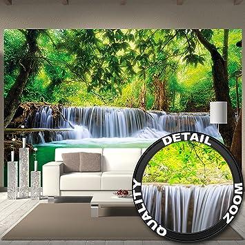 Fototapete Wasserfall Feng Shui Wandbild Dekoration Natur ... Feng Shui Schlafzimmer Fototapete