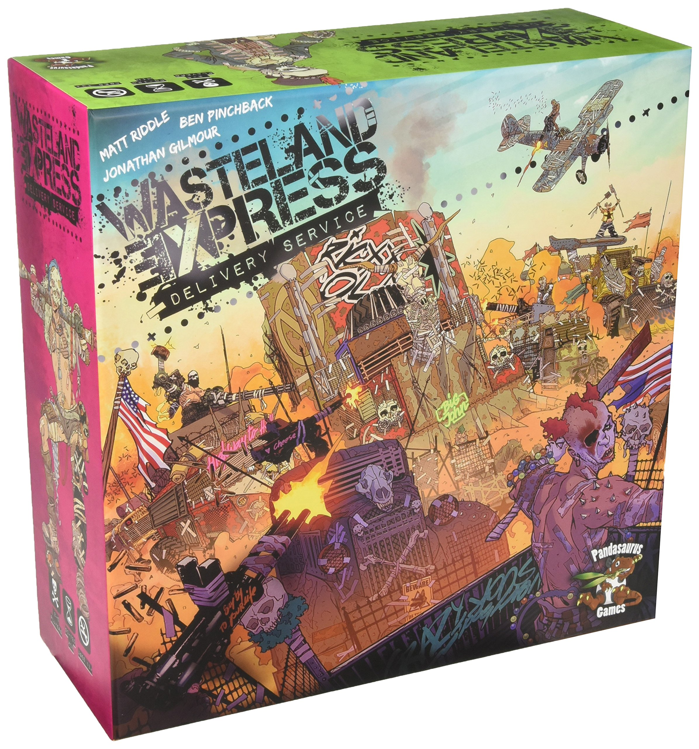 Wasteland Express Delivery Service Board Games