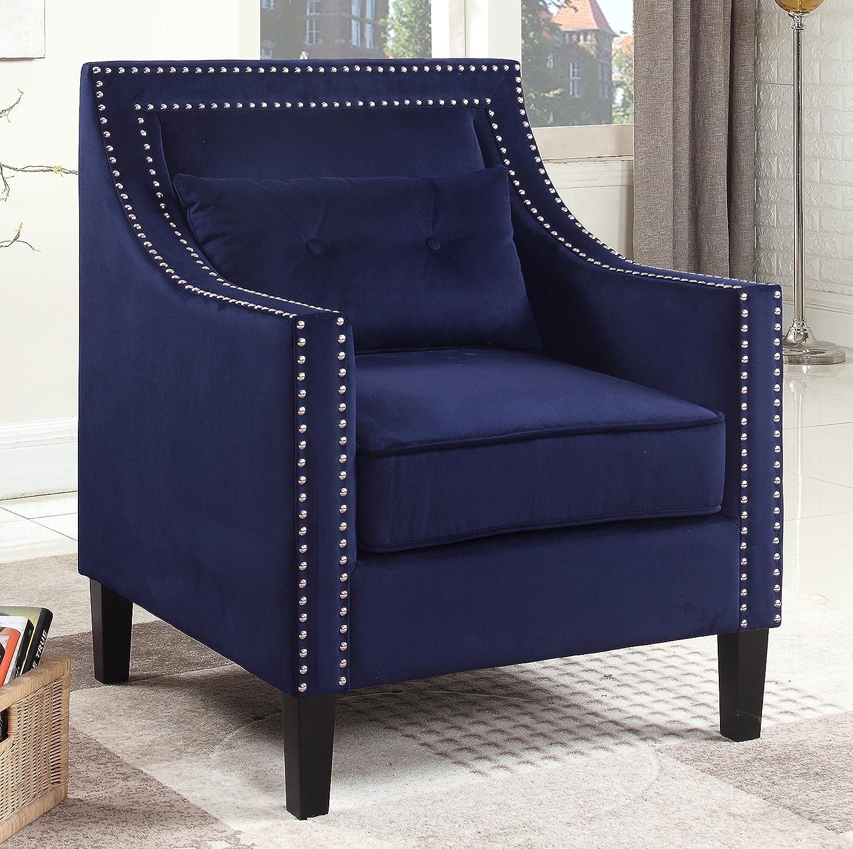 Amazon.com: Best Master Furniture ZH119 Edinburgh Suede ...
