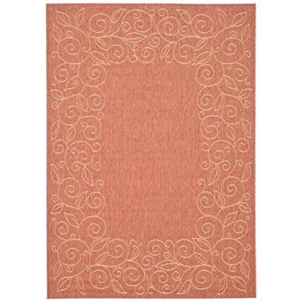 Amazon Com Safavieh Courtyard Collection Cy5139a Terracotta And