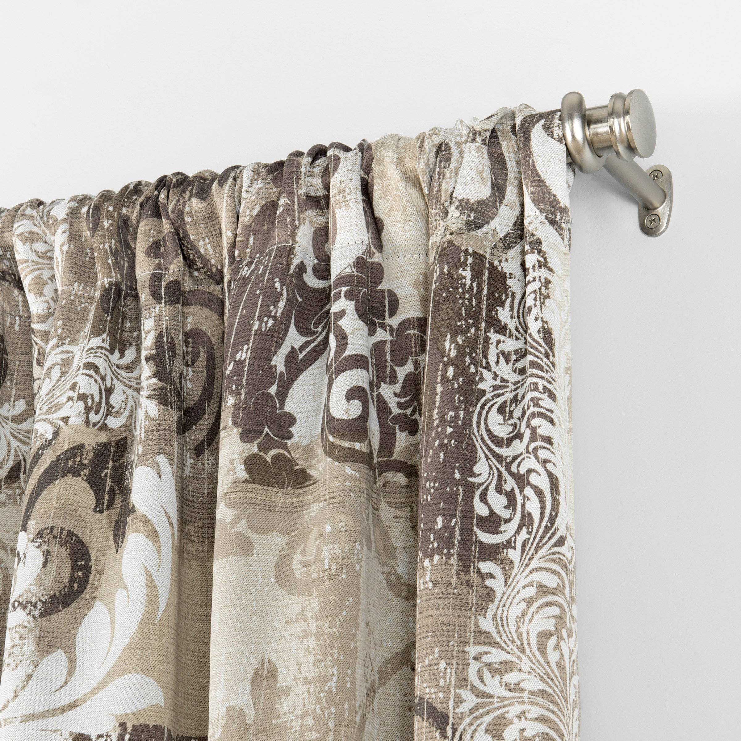 Eclipse Chiswick Room Darkening Single Window Curtain, 37 x 95, Spa by Eclipse Curtains (Image #3)