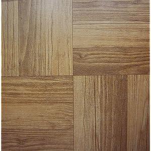 30 Baldosas de Vinilo Para Suelo, estilo madera oscura, autoadhesivas