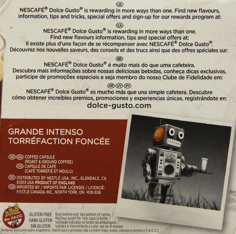 Amazon.com: Nescafe Dark Roast – 16-servings – 091354 ...
