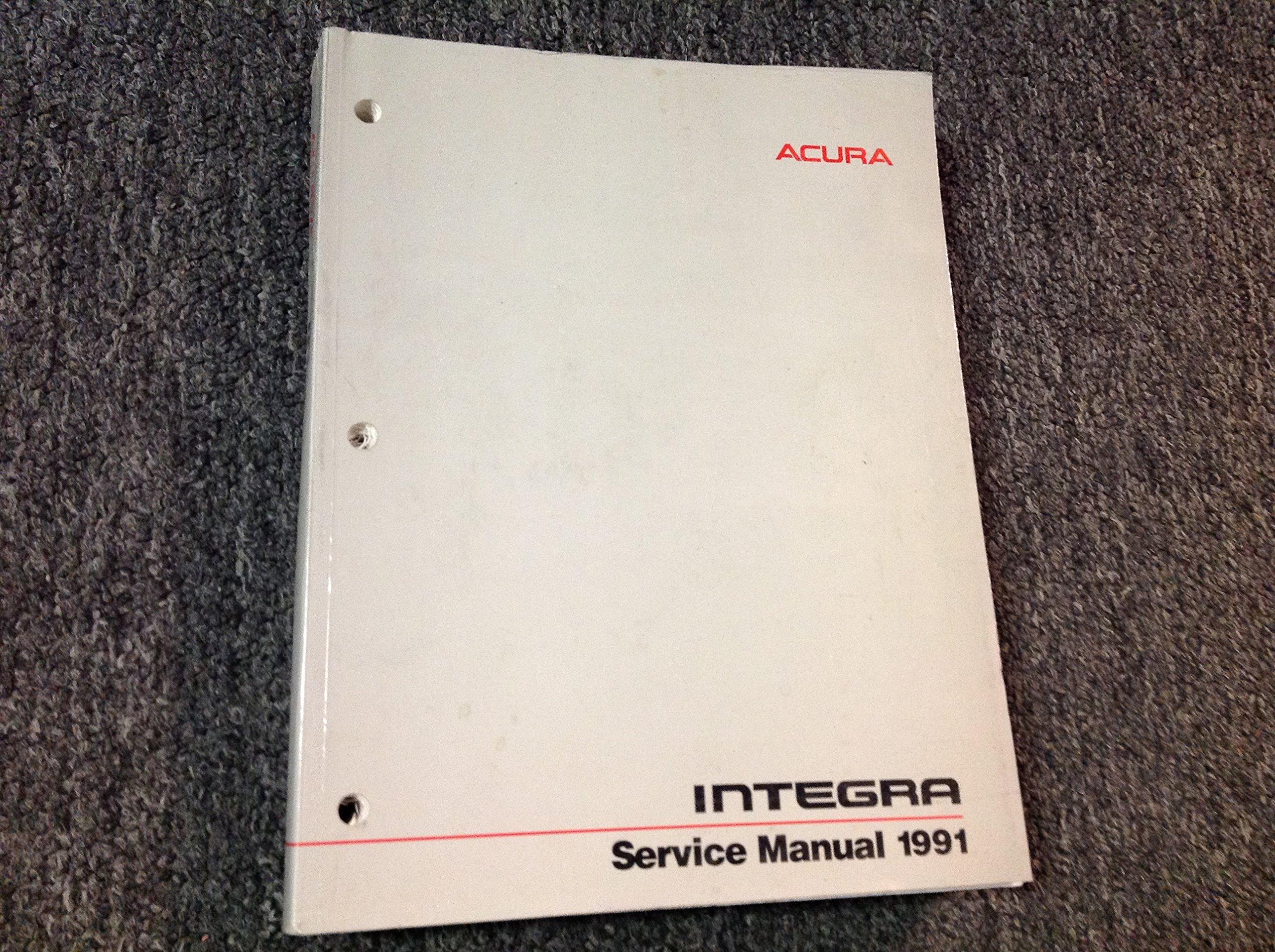 acura integra service manual 1991 honda motor company service rh amazon com 1991 acura integra service manual pdf 1991 acura legend service manual pdf