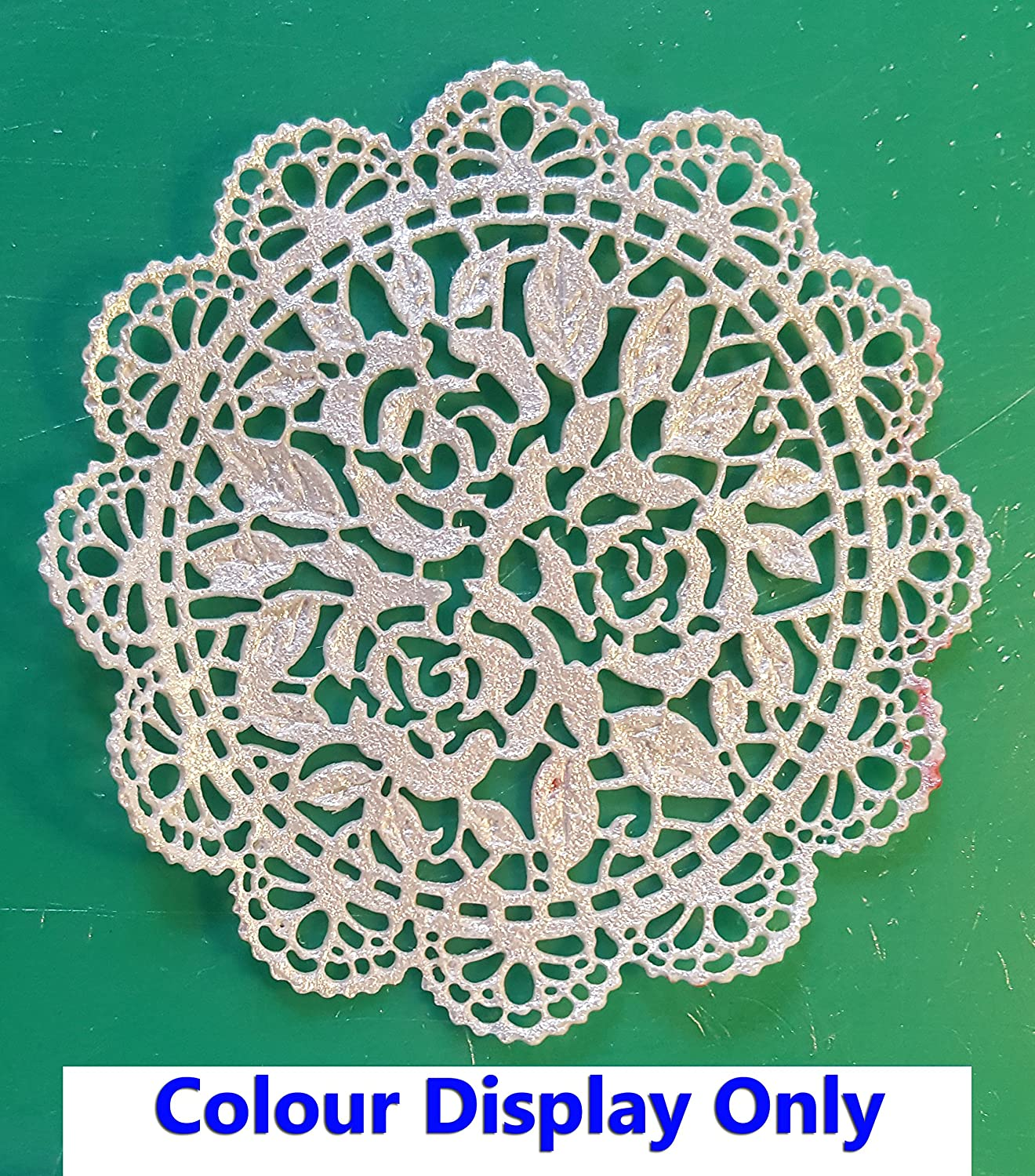 1 x Simply Heaven Edible Ready Made Cake Lace 40 Colours Made from mat 29 Free First Class Postage Black