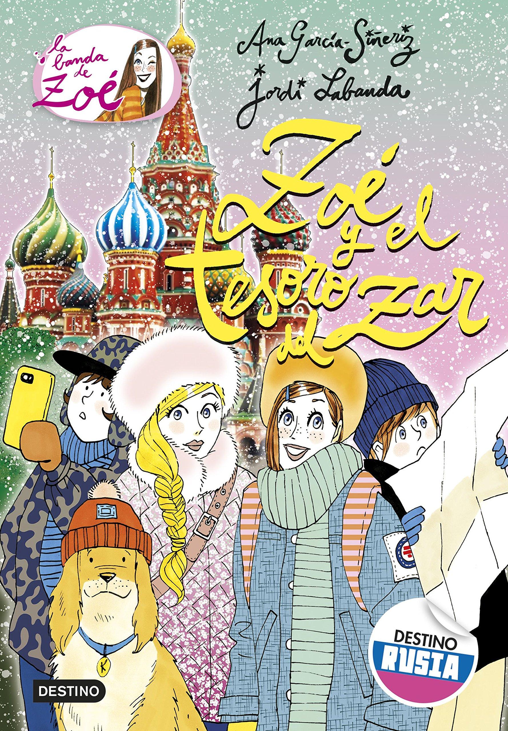 Zoé y el tesoro del zar: La banda de Zoé 15