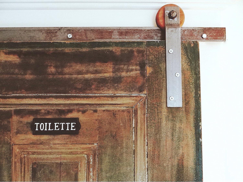 Amazon barn door hardware wooden wheels home improvement vtopaller Gallery