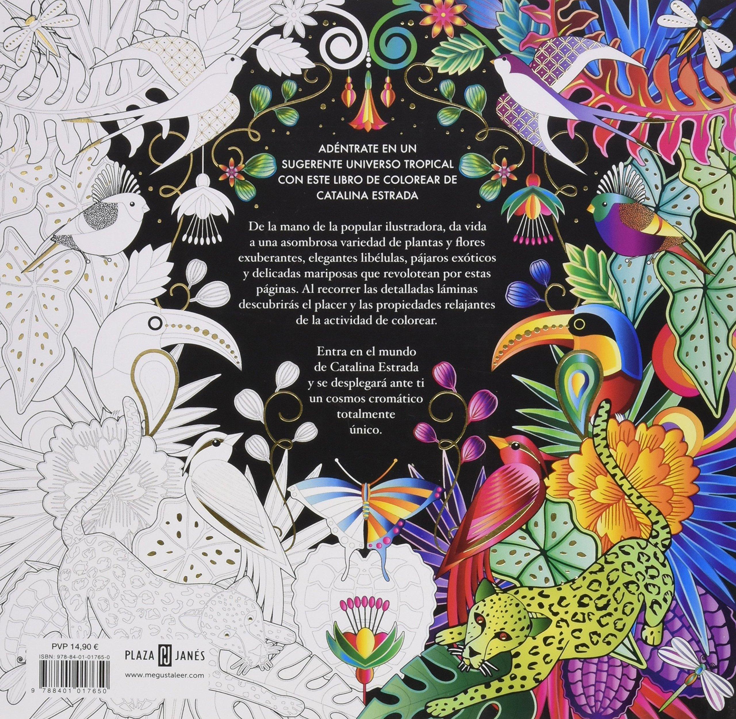 Jungla Cósmica Libro de colorear para adultos OBRAS DIVERSAS: Amazon ...