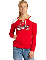 NHL Detroit Red Wings Boatneck Long Sleeve Top Women's