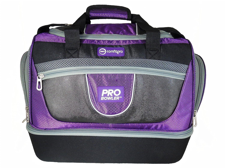 Aero ComfitPro ProBowler Lawn Bowls Bag Purple