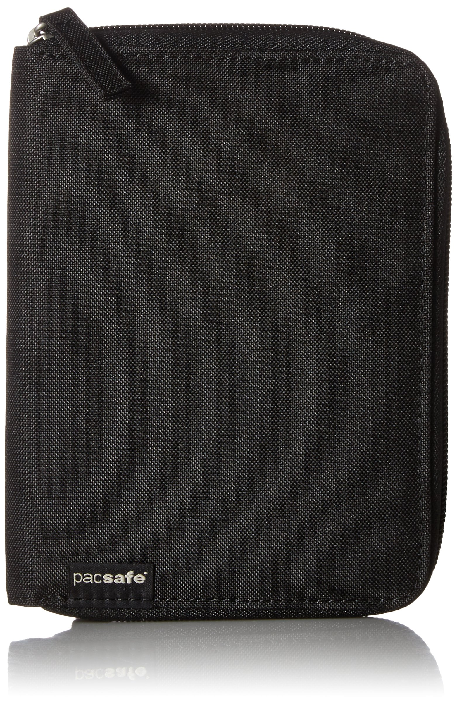 Pacsafe RFIDsafe LX150 Anti-Theft RFID Blocking Passport Wallet, Black