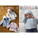 King Cole Baby Comfort DK pattern 3013 14 - 22 by King Cole - King Cole Patterns