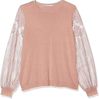 TALLA S. Only Onlviktoria L/S Lace Pullover Knt suéter para Mujer