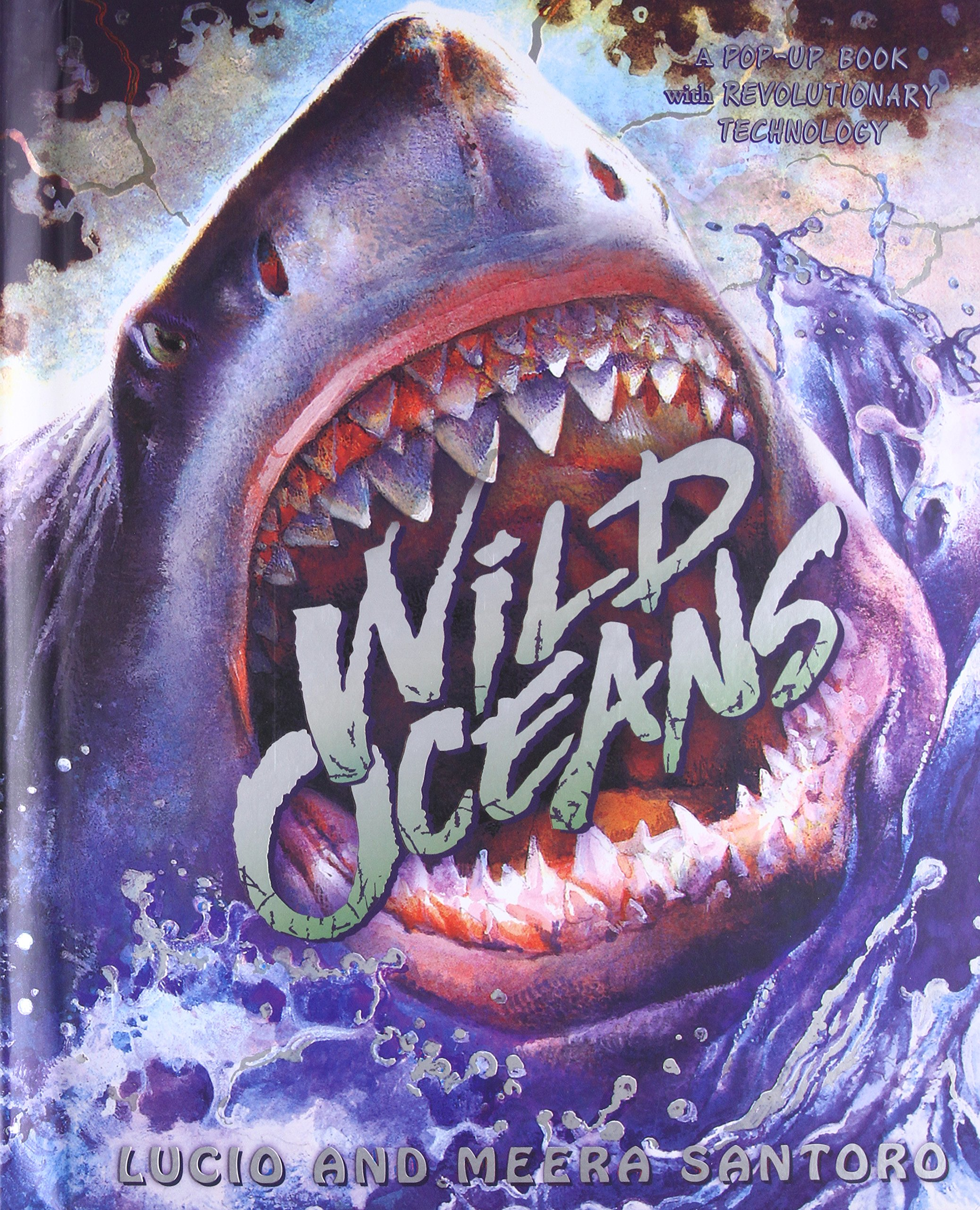 Read Online Wild Oceans: A Pop-up Book with Revolutionary Technology ebook