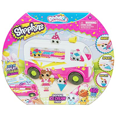 Beados Season 7 Shopkins Ice Cream Truck: Toys & Games