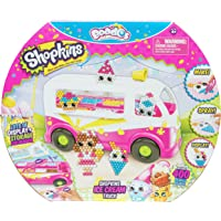 Beados S7 Shopkins Ice Cream Toy Truck, Multicolor, 4.4'' x 10.5'' x 5''