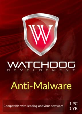 WATCHDOG Anti-Malware 1 PC, 1 Year [Download]