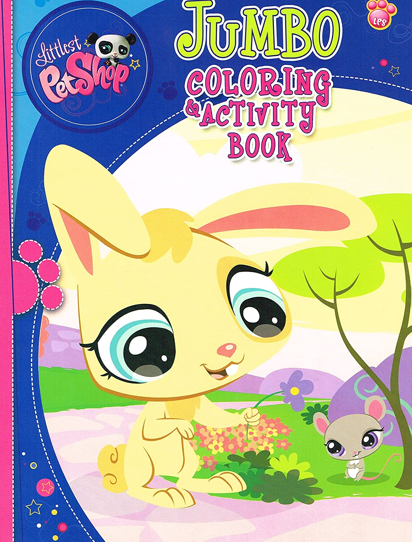 - Amazon.com: Littlest Pet Shop Jumbo Coloring & Activity Book