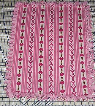 Amazon.com: Campaña contra el cáncer de mama Pink Ribbon Tie ...