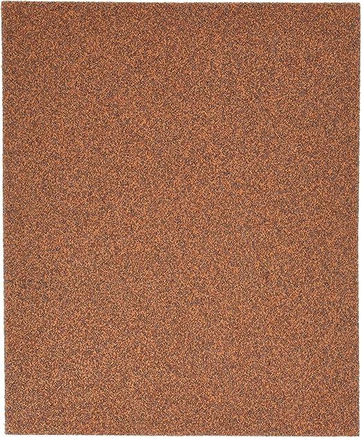 Woodworking Metal 50 Sheets 80 Grit Garnet Sandpaper Furniture Refinishing