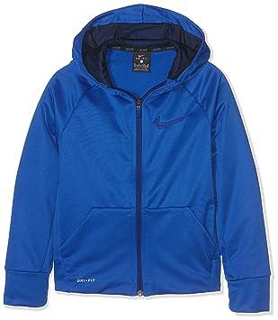 Nike B NK TRHMA Hoodie FZ Sudadera, Niños, Azul (Game Royal/Obsidian), S: Amazon.es: Deportes y aire libre