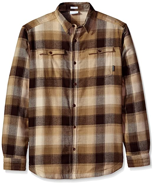 18805ca1f0f Columbia Men's Flare Gun Waffle Lined Flannel Ii Shirt, Major Multi Plaid,  ...