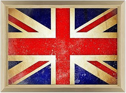 FLAG Intelaiato Fine Art Arredo casa Quadro in Tela Canvas U.K