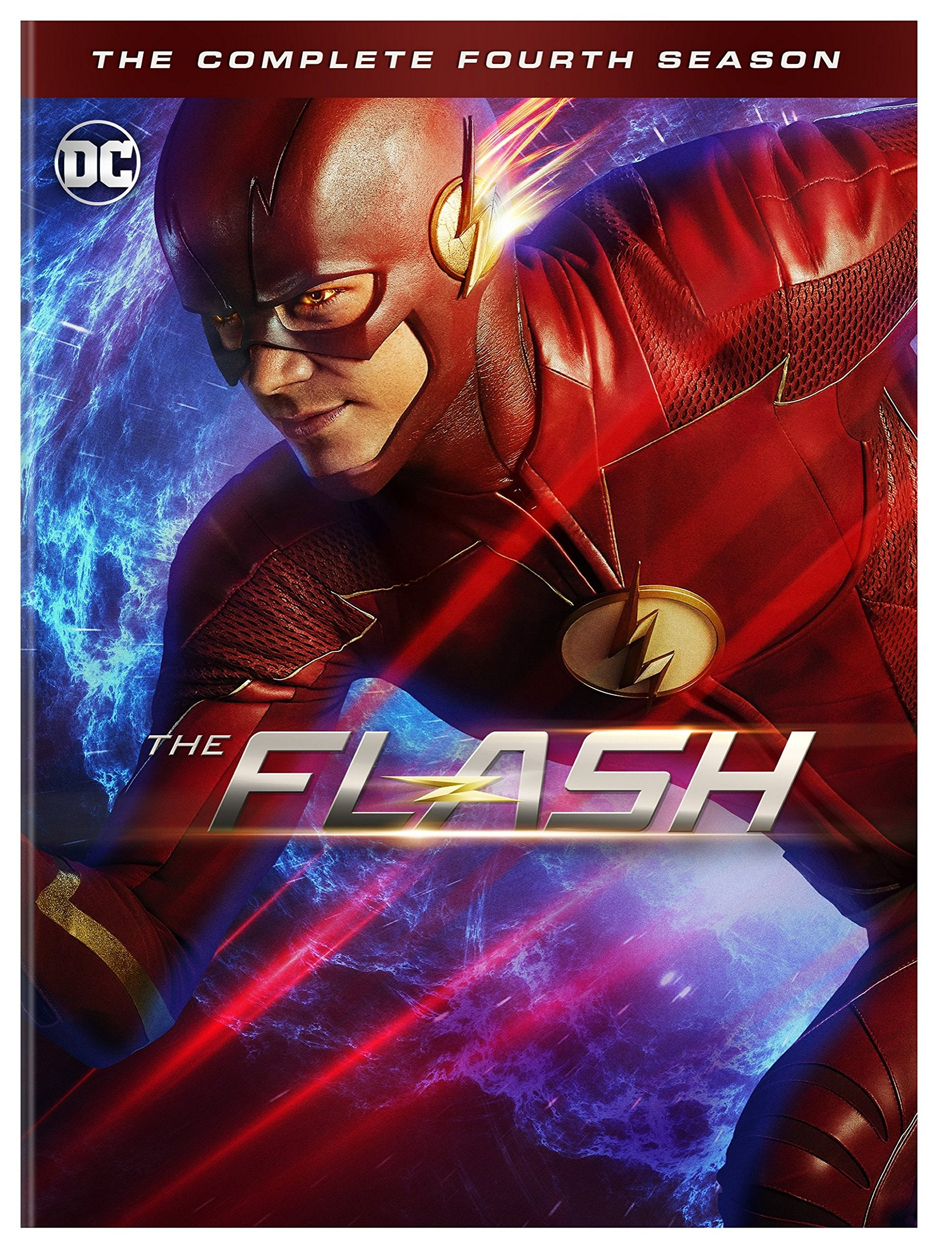 DVD : The Flash: The Complete Fourth Season (dc) (Boxed Set, 5PC)
