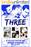 Three: A Collection of Gay Ménage Romances