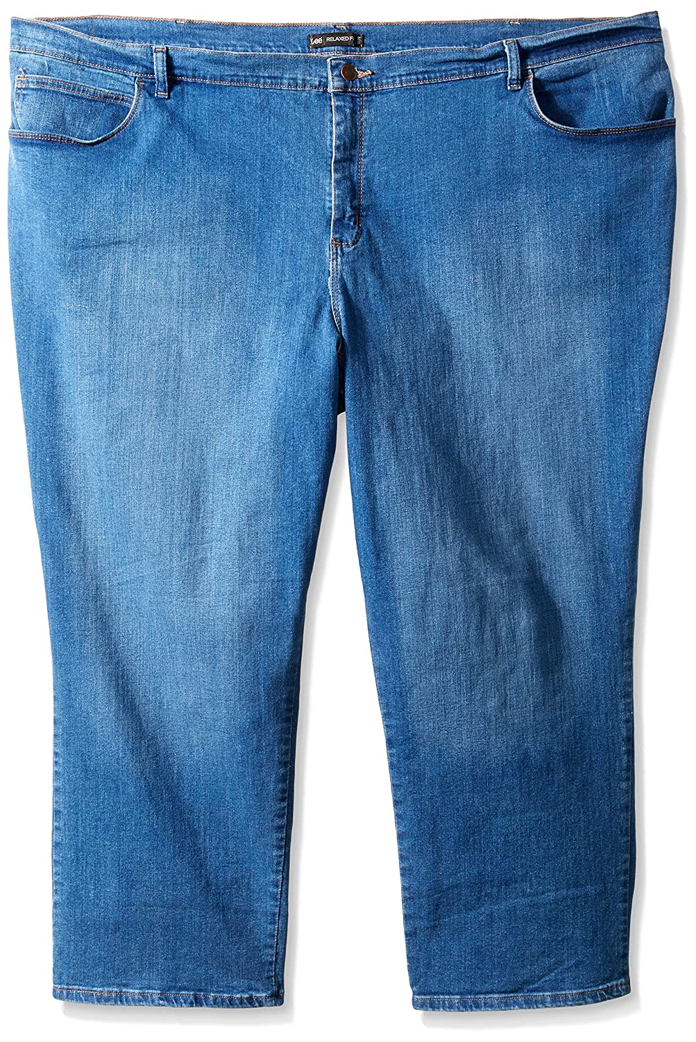 Lee Women's Plus-Size Relaxed Fit Straight Leg Jean Lee Women' s Collection 30718W CA-LJWRFS-PARENT