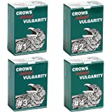 Crows Adopt Vulgarity - 4 Pack (Volume 1, 2, 3, 4) - Adult Party Game - 440 Cards, 120 Green Cards, 320 Blue Cards