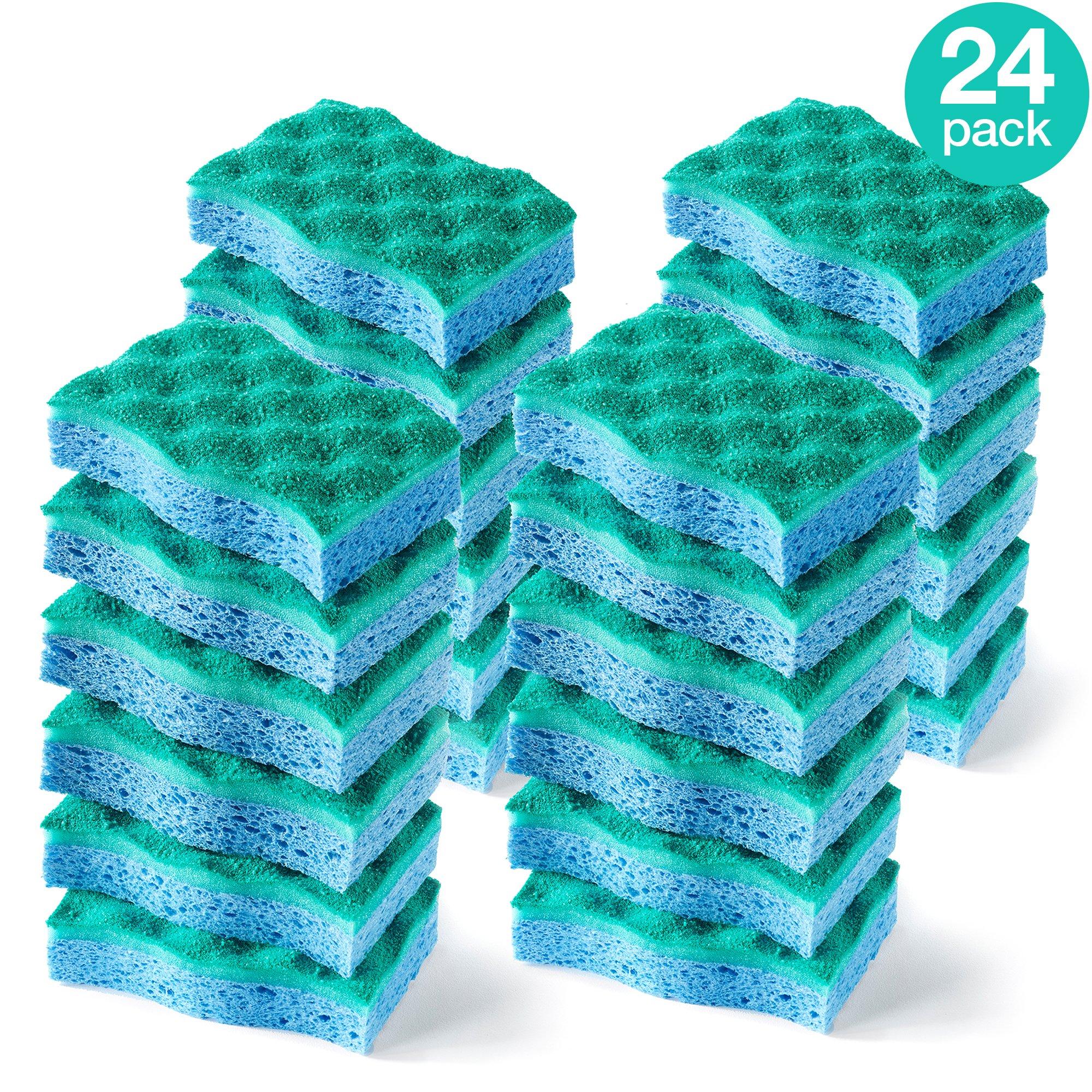 O-Cedar Multi-Use Scrunge Scrubber Sponge (Pack of 24) by O-Cedar (Image #1)