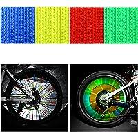 Oumers Reflektor Clips, Fahrrad Felgen Speichen Tube mit 3M Scotchlite Reflexmaterial