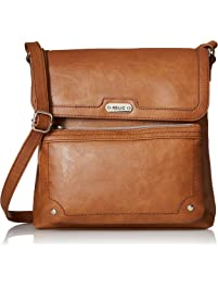 16fc8f4912 Relic by Fossil Women's Evie Flap Crossbody Handbag Purse