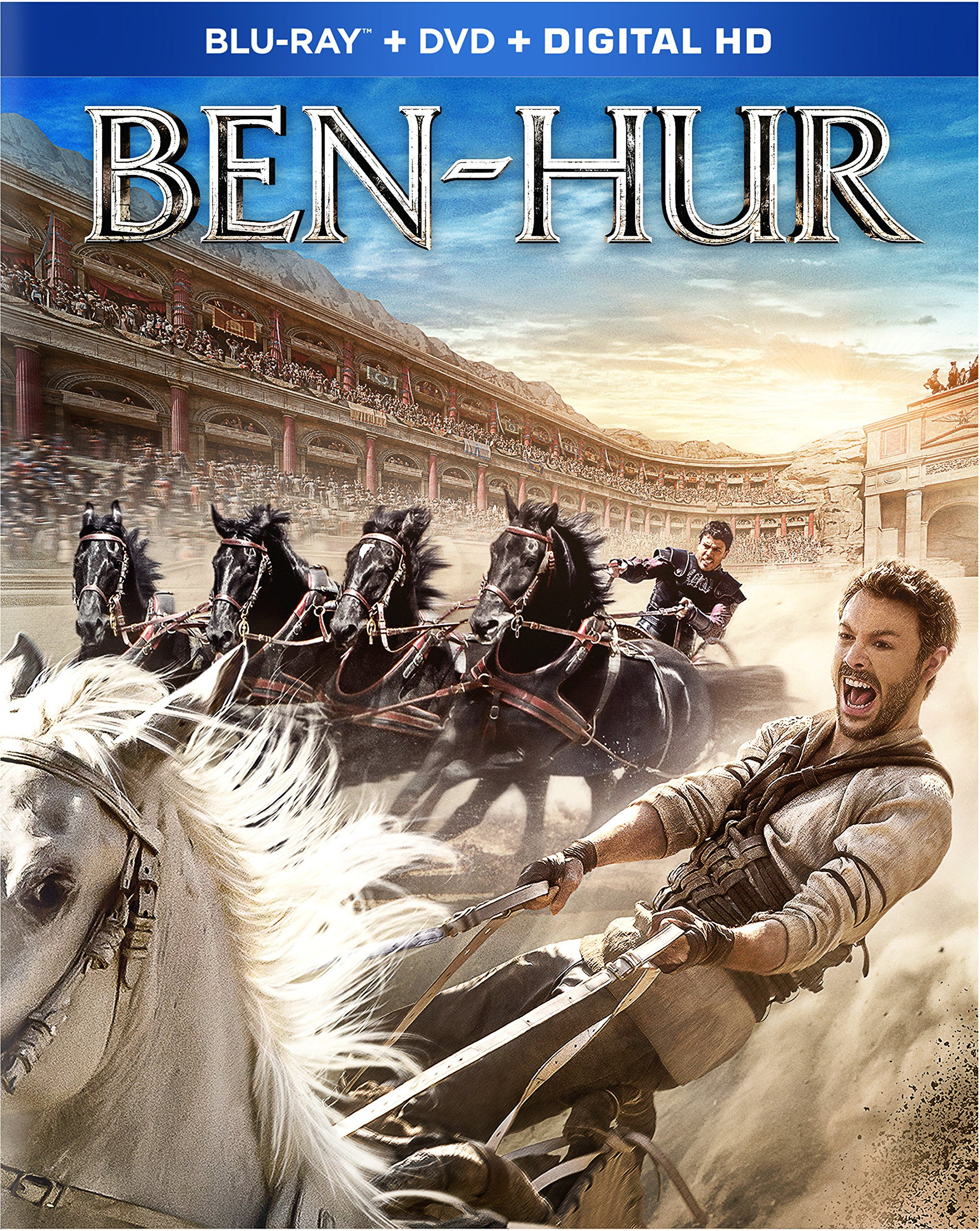 Blu-ray : Ben-Hur (With DVD, Digitally Mastered in HD, 2 Disc)