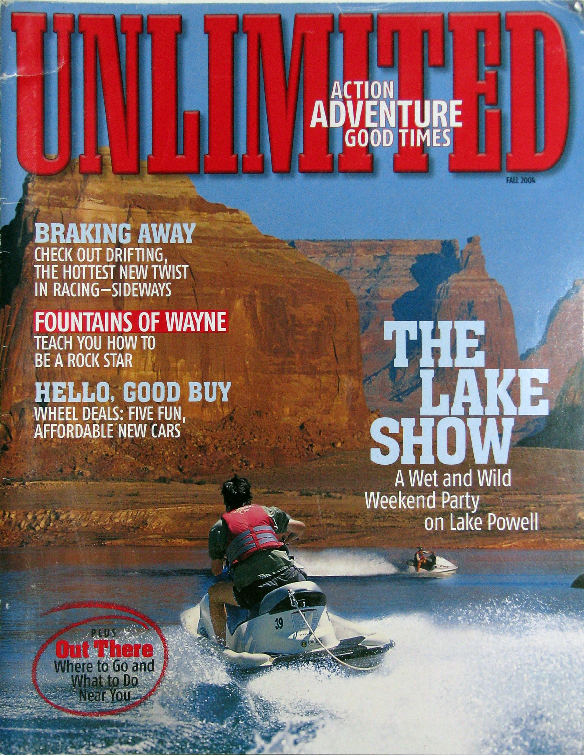UNLIMITED Action, Adventure, Good Times Magazine - Fall 2004
